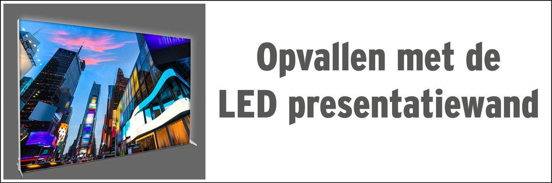 Opvallen met de LED presentatiewand