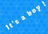 its a boy vlag