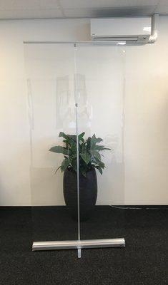 Corona Expolinc Roll-Up banner 100x215cm met transparante pvc